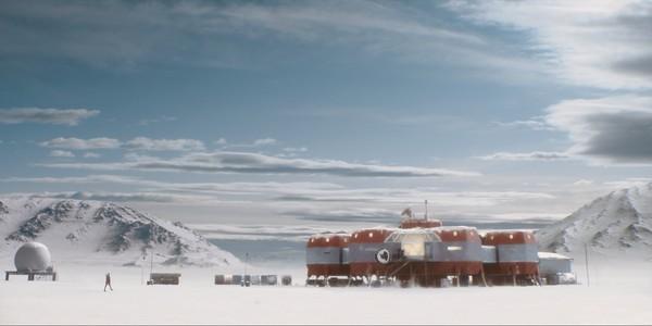 《头领》故事背景发生在南极。