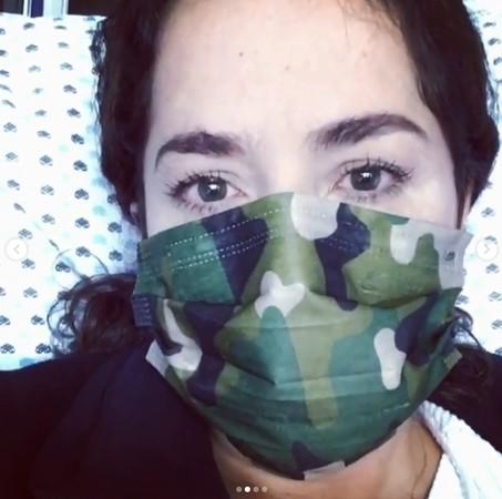 丹娜·添西亚感染新冠肺热