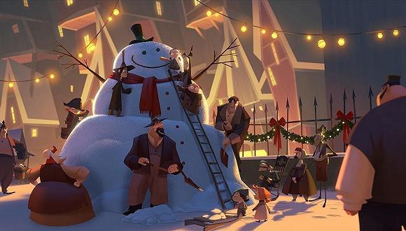 《克劳斯:圣诞节的秘密》