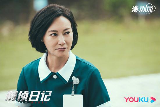 惠英红把抑郁症经历融入《刑侦日记》表演中