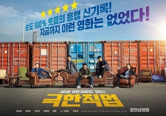 《极限职业》韩影史总票房榜第4 超过《阿凡达》