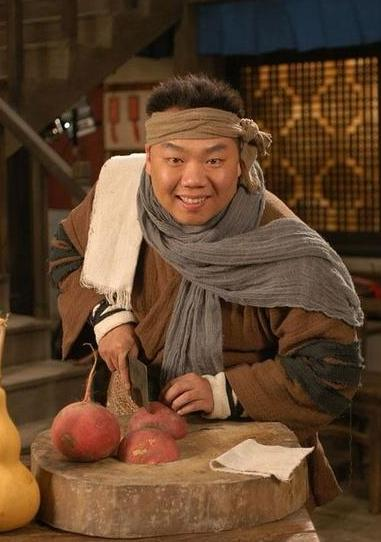 姜超的代外角色是《武林张扬》中的李大嘴