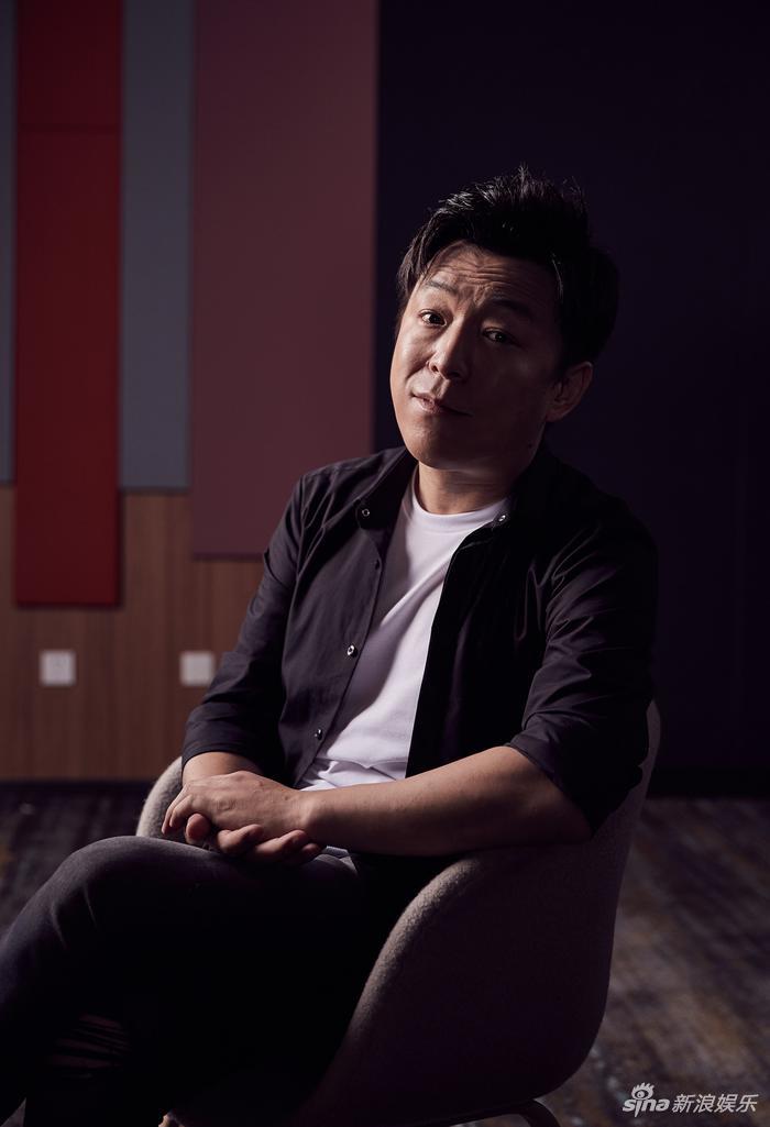 黄渤对话新浪娱乐(宫德辉/摄影)