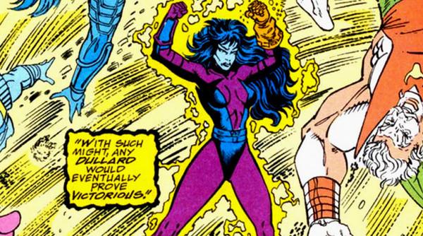 漫画中卡魔拉从灭霸手中抢过无限手套,结果失去控制