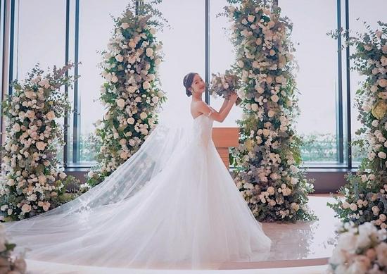 板野友美结婚典礼