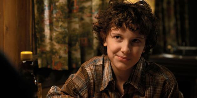 "米莉·布朗在《怪奇物语》扮演""Eleven""一角"