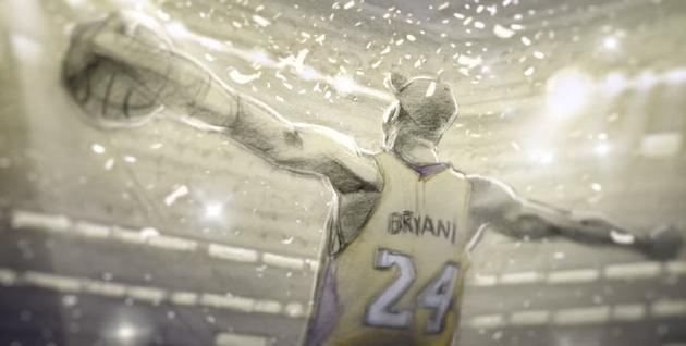 科比曾倚赖《钦佩益的篮球》获得奥斯卡最佳动画短片奖