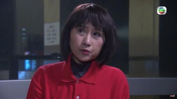 刘素芳于《爱·回家》饰演香港岛大学饭堂职员大芬姐。