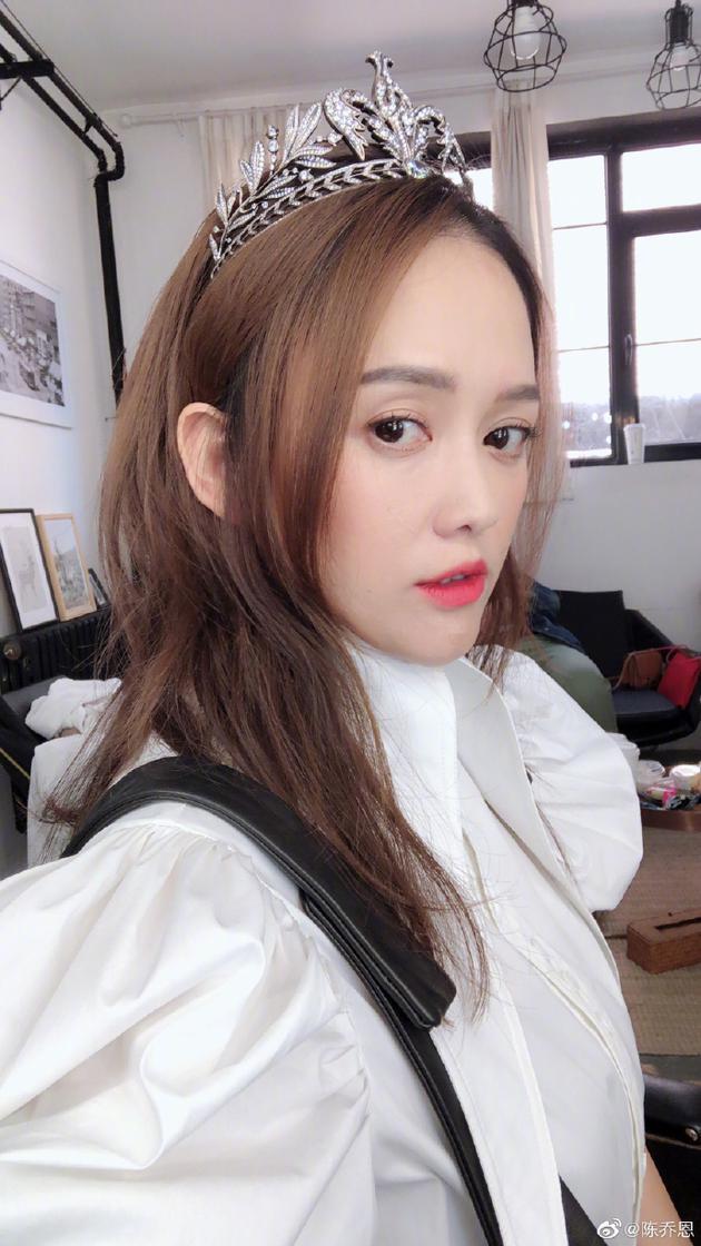 陈乔恩庆出道19周年 感慨录综艺赚钱顺便找男友