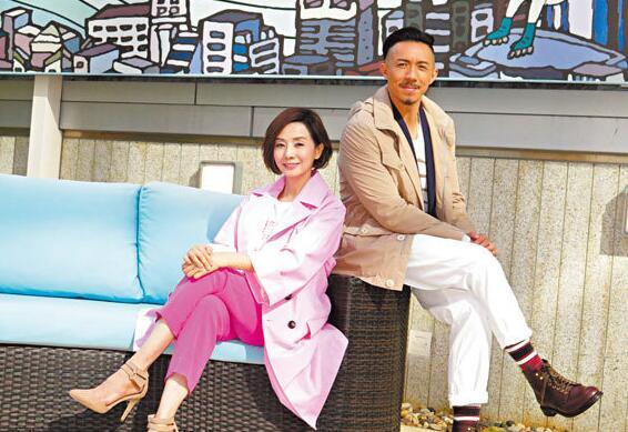 张继聪(右)渴望与毛舜筠有对手戏。