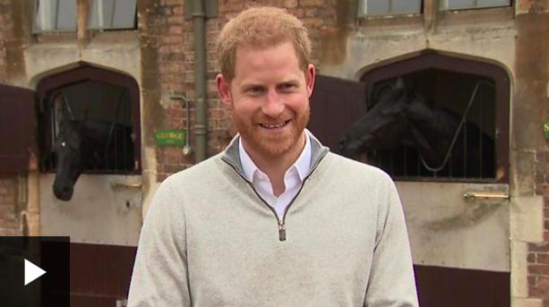 哈里王子现身
