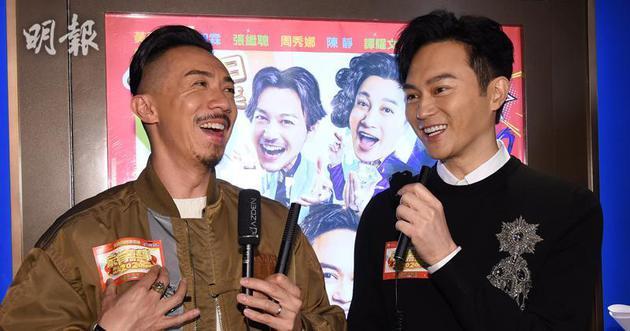 张继聪(左)与张智霖不约而同跟家人昔时本度岁