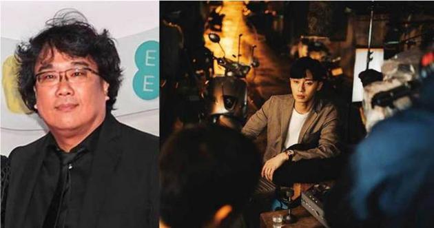 在电影《寄生虫》客串的朴叙俊,帅气表型添上镇静性格,连导演奉俊昊都被他迷住。