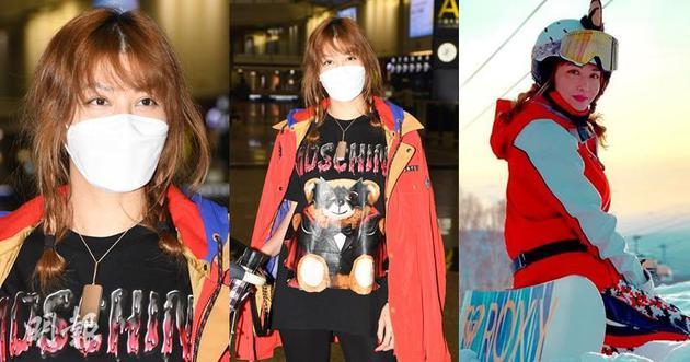 李彩华昨晚(3月2日)从北海道回到香港