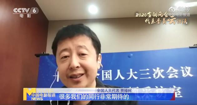 全国人大代表贾樟柯连线中国电影报道