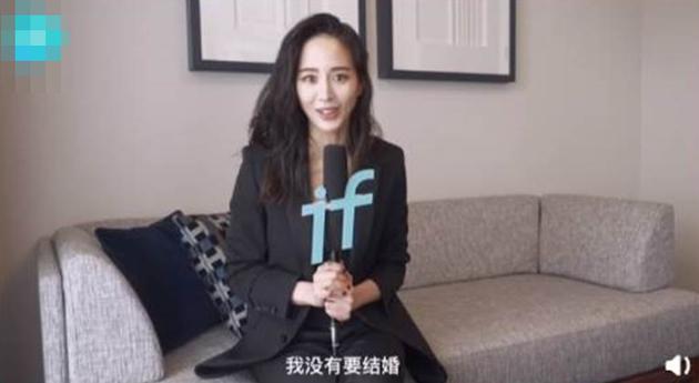 张钧甯强调自己没有要结婚