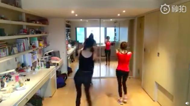 范瑋琪小S跳舞