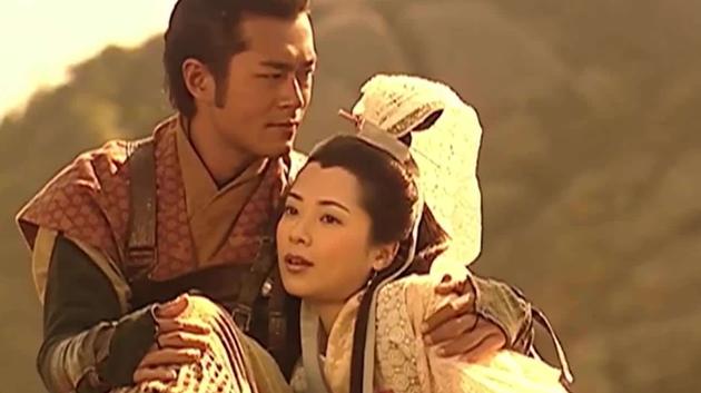 《寻秦记》中古天乐饰演的项少龙和郭羡妮实现的琴清