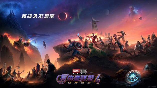 《复仇者联盟4:终局之战》创造了全球影史首轮公映票房最高纪录