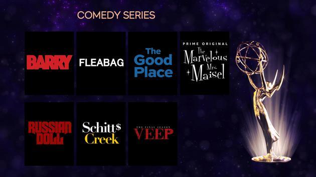 喜劇類《了不起的麥瑟爾夫人》共20個提名