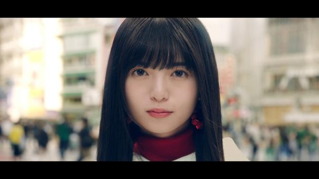 乃木坂46斋藤飞鸟拍摄广告原料图