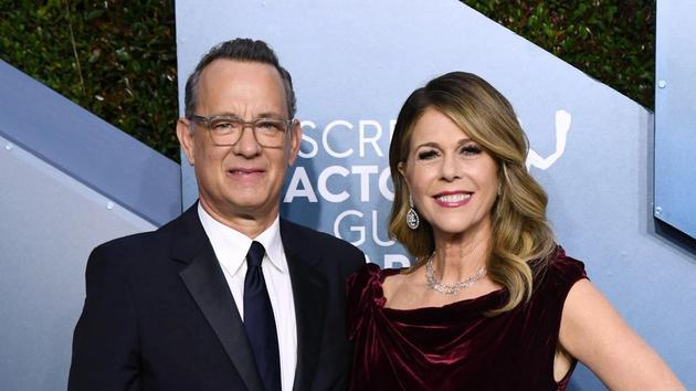 汤姆·汉克斯夫妇发布声明称感染新冠肺炎将进行隔离观察