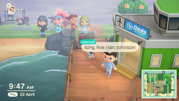 """伊利亚行的时候还留下了一句""""long live Rian Johnson"""""""