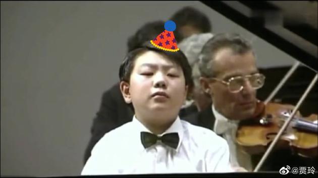 賈玲曬郎朗13歲照為其慶生 大夸他才華橫溢又可愛