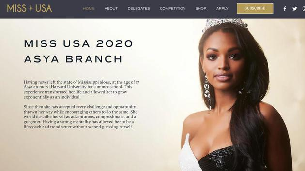 2020美国小姐出炉