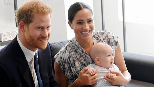 哈里王子与梅根夫妇