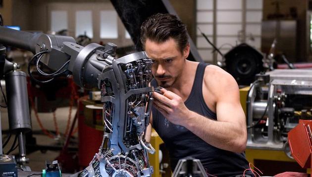 幼唐尼就像他演的钢铁侠相通用高科技做益事
