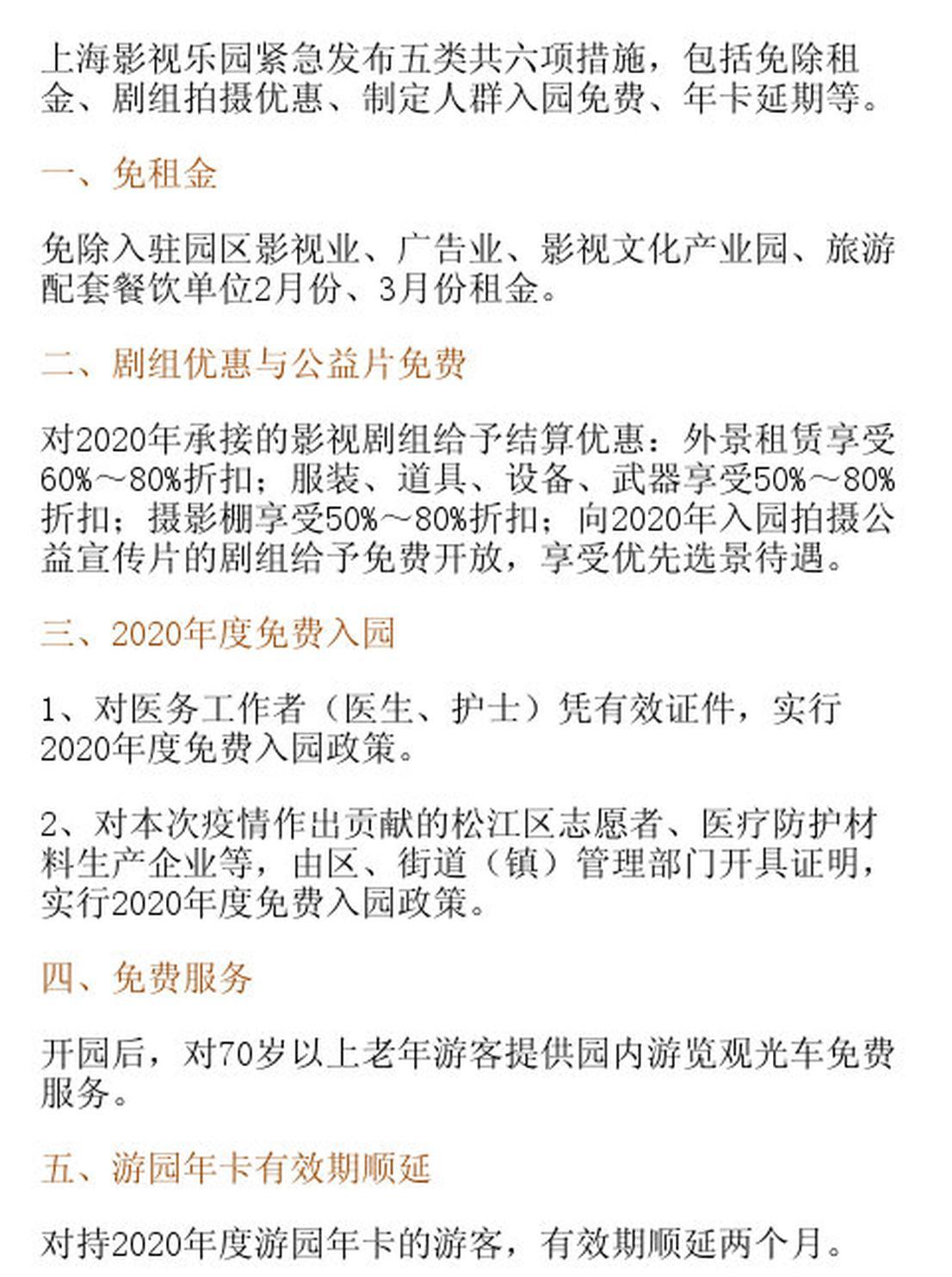 上海影视笑园6项措施共克时艰