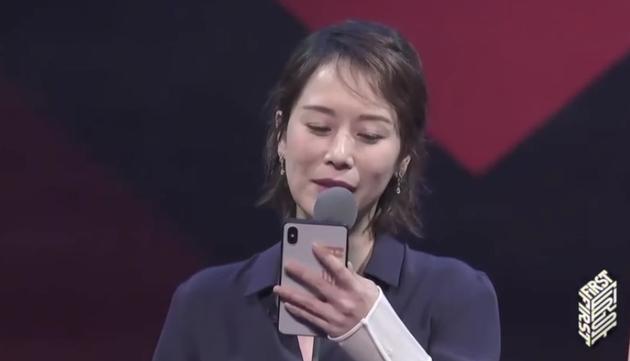 FIRST青年电影展闭幕式上 海清呼吁给中生代女演员机会:热爱电影没傍大款
