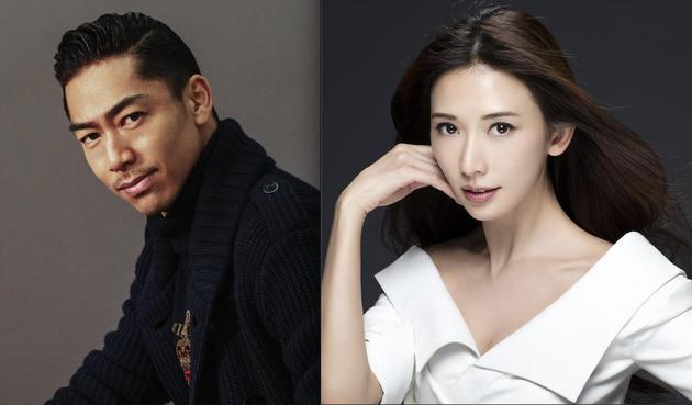 林志玲和老公AKIRA 旧照