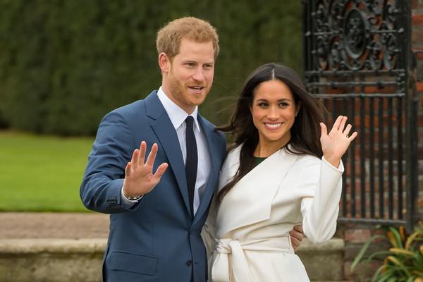 梅根为哈里王子诞下男婴 系王位第七顺位继承人