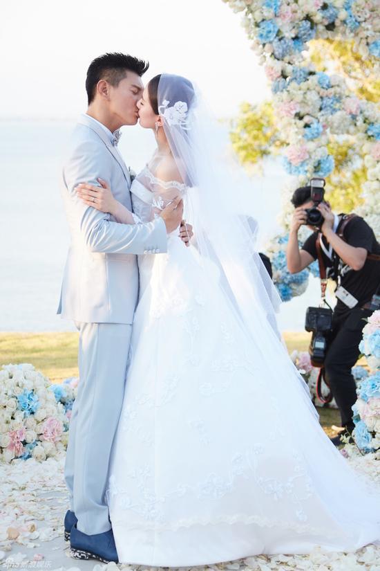 吳奇隆劉詩詩浪漫婚禮