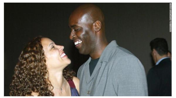 Michael Jace与妻子