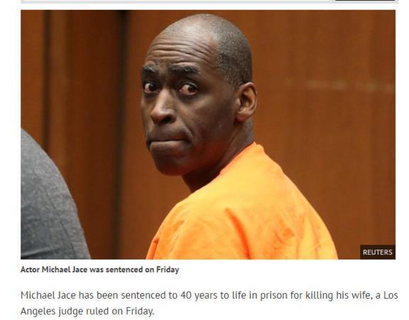 Michael Jace被判终身监禁