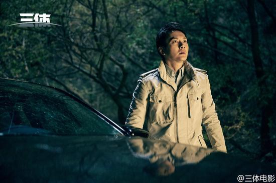 此前曝光的《三体》剧照,冯绍峰饰汪淼。