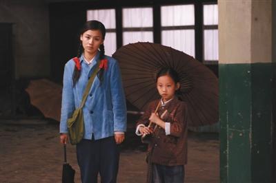 多年前,马思纯出演了蒋雯丽的导演处女作《我们天上见》
