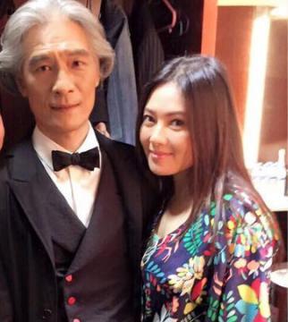 李丽珍(右)和潘源良(左)
