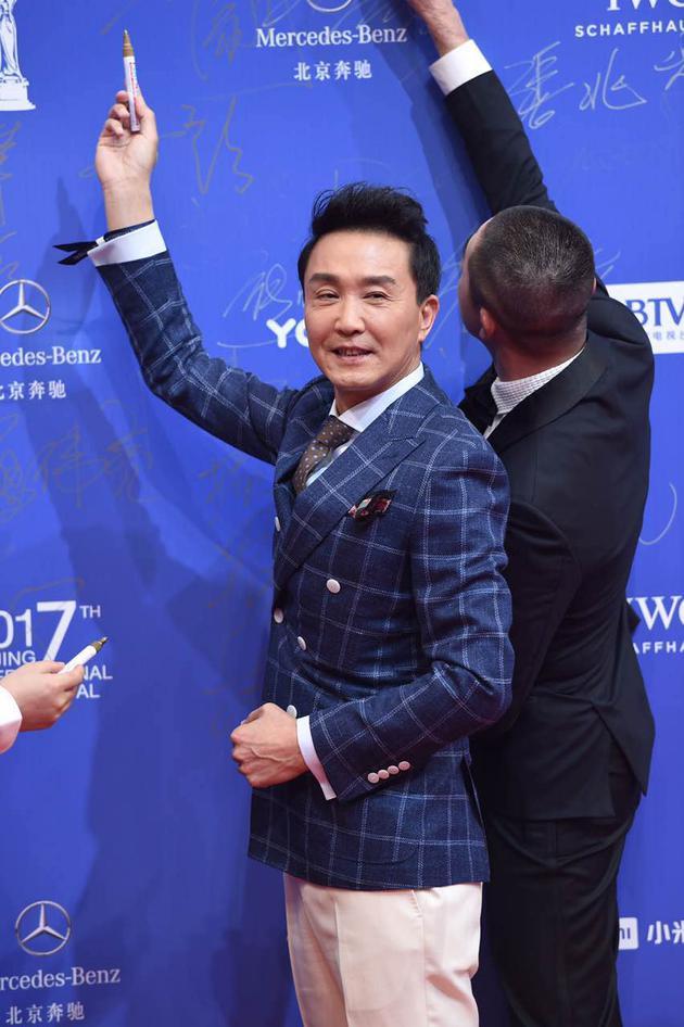 吴刚亮相北京电影节