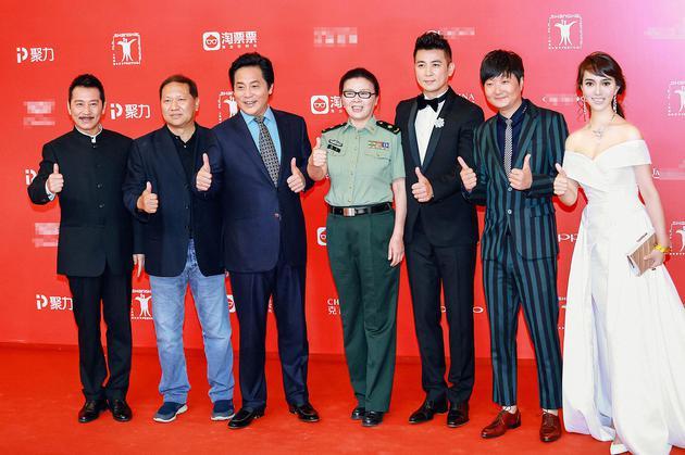 《血战湘江》剧组集体出席上影节