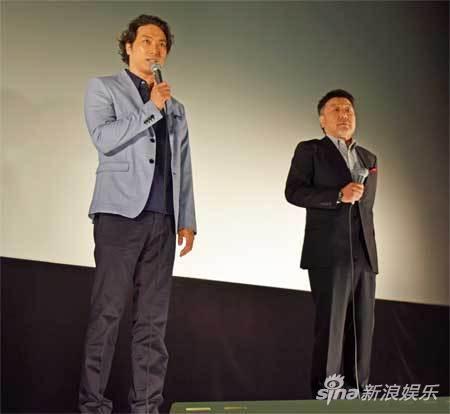 8月5日日本滋贺彦根市电影《关原》主创参加宣传活动