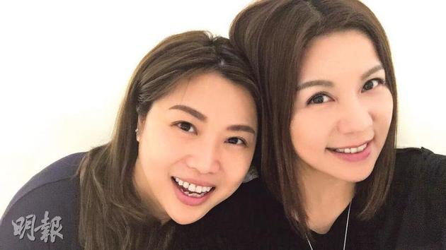 梅小惠(左)与刘美娟(右)都是健姐出身,对马清仪死讯感到震惊。