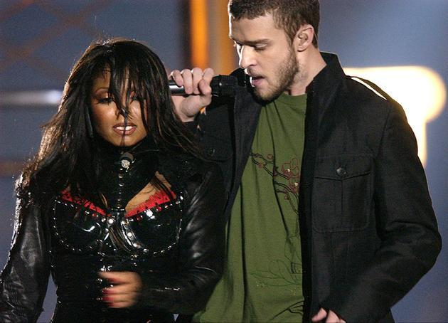 2004年的贾斯汀与珍妮·杰克逊