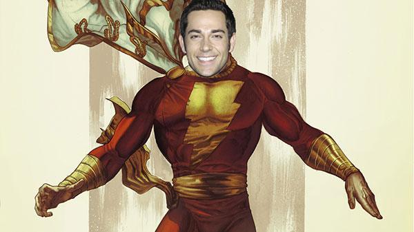扎克瑞·莱维将主演DC漫画电影《神奇队长》