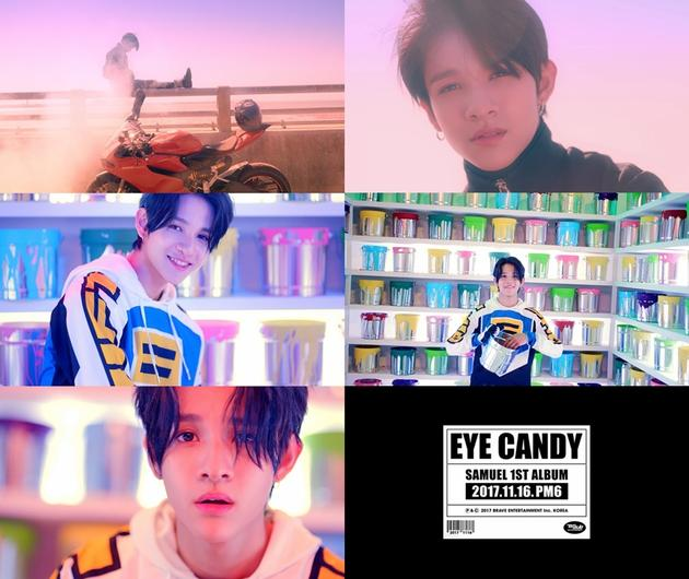 韩歌手Samuel新曲MV预告公开 花样少年令人心动