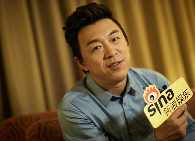 黄渤在台北接受新浪娱乐专访