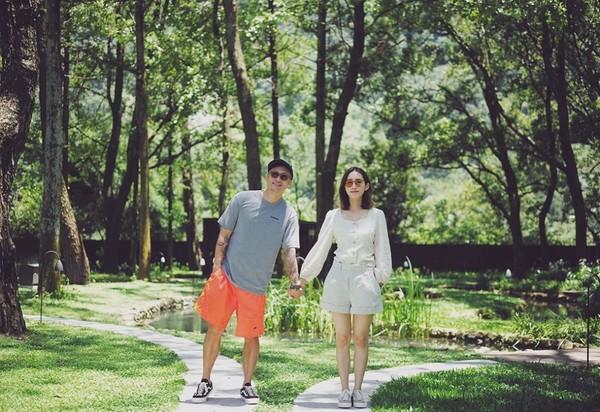 余文乐和名模妻子王棠云